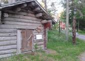 Tradiční dřevěná sauna